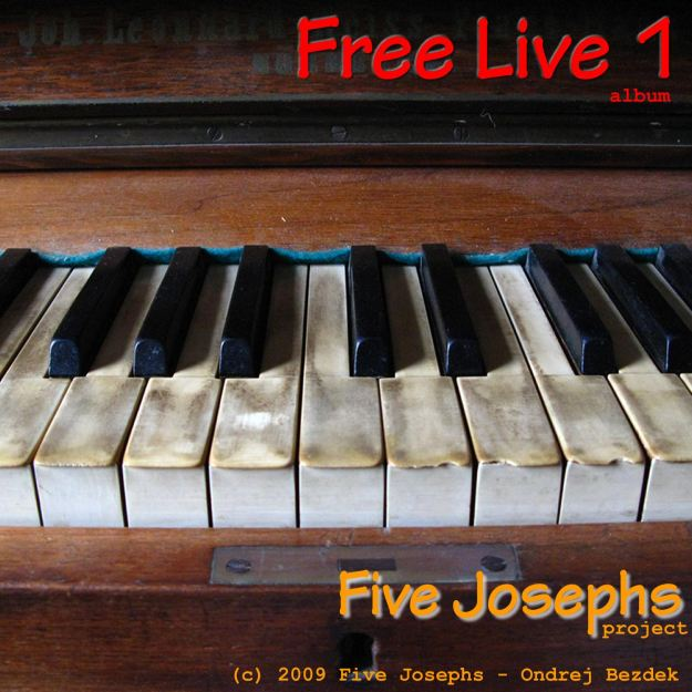 Free Live 1 album front cover design