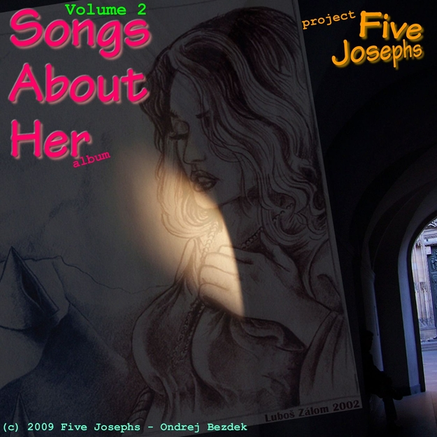 Songs About Her Volume 2 album front cover design