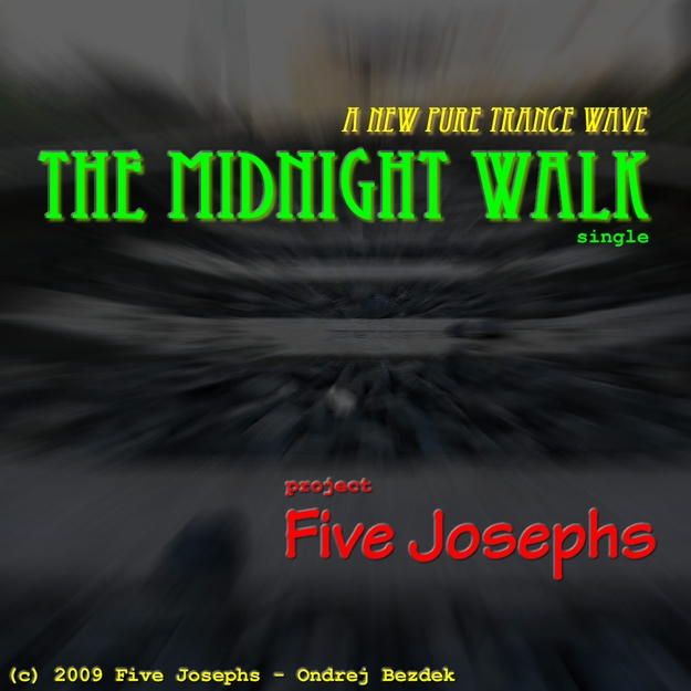 The Midnight Walk single front cover design