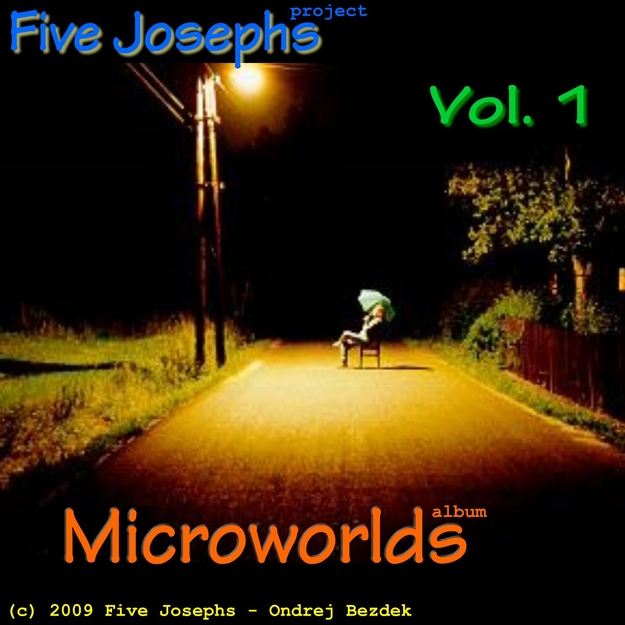 Microworlds: Vol 1 album front cover design