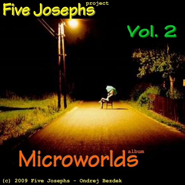 Microworlds: Vol 2 album front cover design