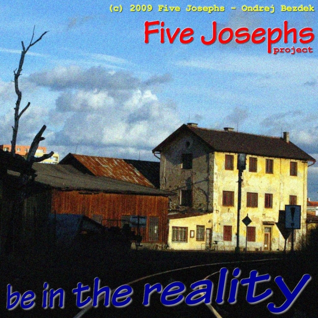 Be In The Reality album front cover design