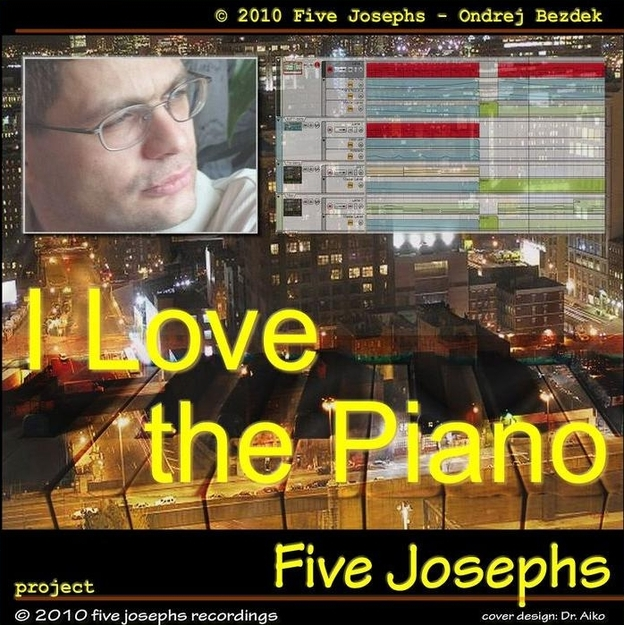 I Love The Piano (Two Free Track) front cover design